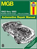 MGB Automotive Repair Manual (Haynes Repair Manuals)